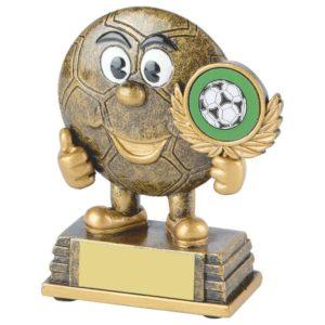 Mini Football Trophy, Kids, Childrens, Fun, Birthday, Free Engraving (RS282) twt