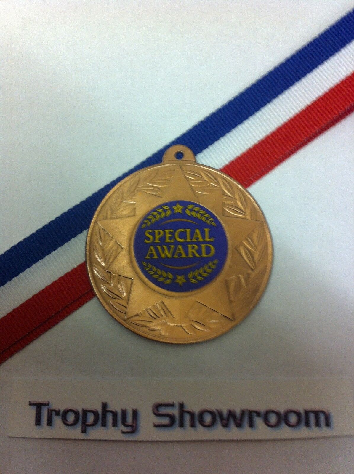 SPECIAL OFFER 10 x Swimming 50mm Metal Medals /& Ribbons Gold Silver and Bronze