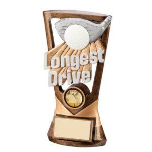 Velocity,Longest Drive Golf Trophy/Award,180mm Free Engraving (RF3044A)trd