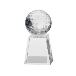 Voyager Golf Crystal,Golf Trophy/Award 125mm,FREE Engraving (CR16209B)trd