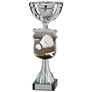 Badminton Trophy Cup, Trophy, Award, 275mm, FREE Engraving (TQ15093D)