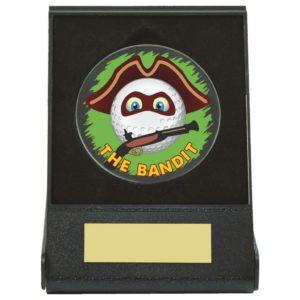 The Bandit Golf Ball Fun Trophy,Award,Free Engraving (673ZAP)twt