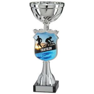 Triathlon Trophy Cup, Award, 295mm, FREE Engraving (TQ15141E) trd