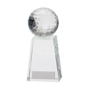 Voyager Golf Crystal,Golf Trophy/Award 145mm,FREE Engraving (CR16209C)trd