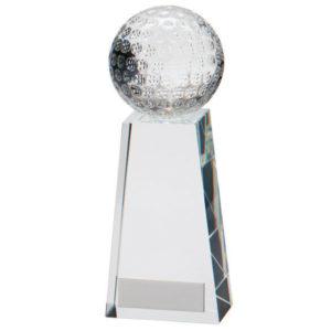 Voyager Golf Crystal,Golf Trophy/Award 165mm,FREE Engraving (CR16209D)trd