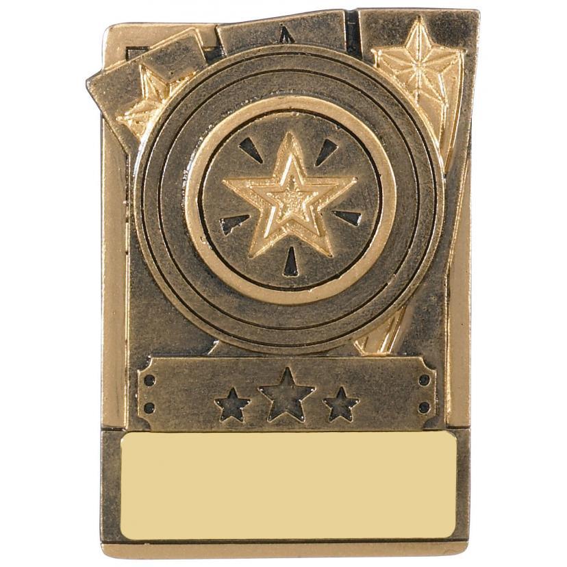 Magnetic Winner Trophy, Award, 80mm, Free Engraving (RK033) good