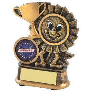Mini Rosette Trophy, Kids,Childrens, Fun,Birthday, 125mm, (RS251)twt
