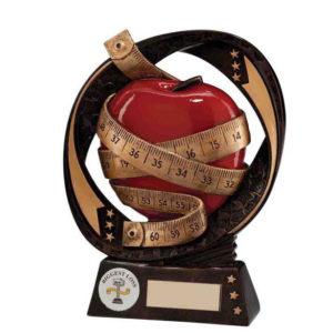 Slimming, Weight Loss, Diet Trophy/Award 170mm, FREE Engraving (RF16078B)(TRD)