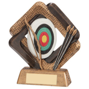 Archery Trophy 'Sporting Unity' Range, 165mm, Free Engraving (RF17031C) trd