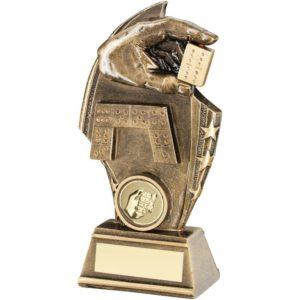 Stars Dominoes Trophy Award 140mm FREE Engraving (RF662A) td