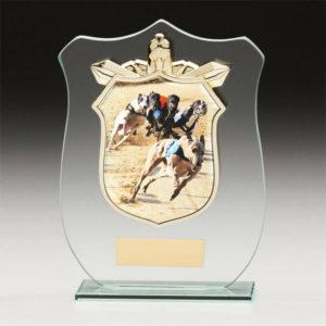Greyhound Titan Glass, Trophy, Award, 120mm, FREE Engraving (CR15119A) trd