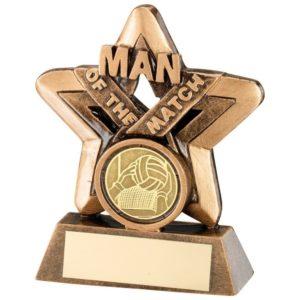 Man Of The Match Gaelic Football Trophy Award 95mm FREE Engraving (RF418) td