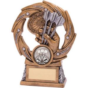 Supernova Darts Trophy,Award,125mm ,Free Engraving (RF18064A) trd