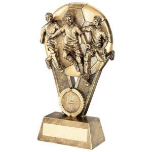 Victory Football Trophy Award 178mm Free Engraving (RF325B) td
