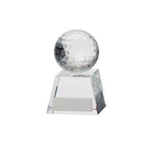 Voyager Golf Crystal,Golf Trophy/Award 95mm,FREE Engraving (CR16209A)trd