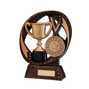 Achievement Trophy, Award, Cup Winner 190mm, FREE Engraving (RF16190D)(TRD)