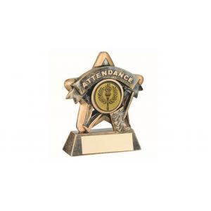 Attendance Star Award,Trophy,95mm, School, Achievement FREE Engraving (RF401) td