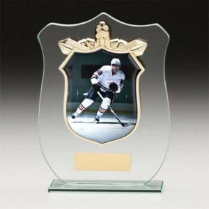 Ice Hockey Titan Glass, Trophy, Award, 120mm, FREE Engraving (CR15120A) trd