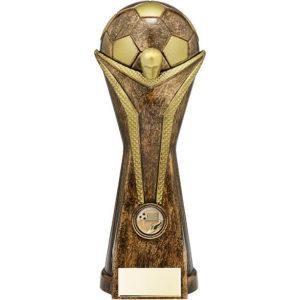 World Football Trophy, Heavyweight, 300mm, (PA18093E) cl **SPECIAL OFFER**