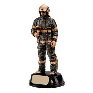 Fire Fighter Trophy, Award, Fireman, 190mm, Free Engraving (RF0116) trd