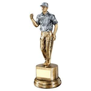 Winner Golf Trophy Award 260mm Free Engraving (RF721B) td
