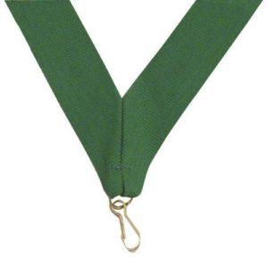 10 x Green Sports Medal Ribbon,22mm Wide,395mm Long