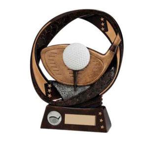 TYPHOON, Golf Driver Trophy/Award,190mm Free Engraving (RF16086C)trd